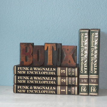 Letterpress Blocks: Botox