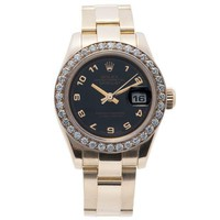 Rolex Datejust Automatic Self Wind Womens Watch 179165 (certified Pre Owned)
