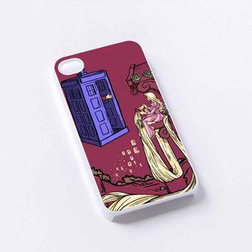 Rapunzel TArdis Dr Who iPhone 4/4S, 5/5S, 5C,6,6plus,and Samsung s3,s4,s5,s6