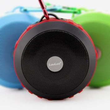 LuguLake Shockproof UFO Bluetooth Speaker,Handsfree Speakers, Portable Speaker system Made for all bluetooth devices, iPhone 5S,6 Samsung S5,etc