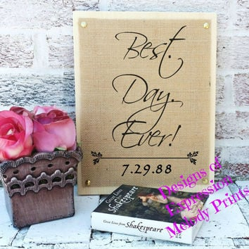 Customized your own sign, Personalize your own sign, Wedding Signs, Burlap signs, Wood burlap signs, Rustic customized signs, Country signs