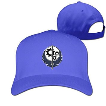 Brotherhood Of Steel Fitted Hat Baseball Caps