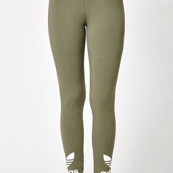 adidas Trefoil Leggings at PacSun.com