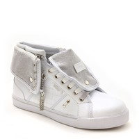 Studded Sugar Rush Sneaker White
