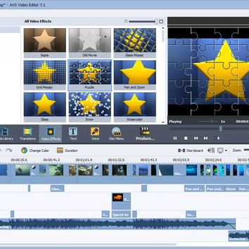 AVS Video Editor 7.1 Crack With Serial Key Full Download