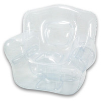 Bubble Inflatables Inflatable Chair - Color: Crystal Clear