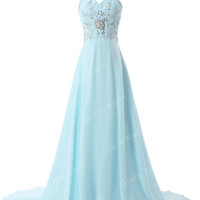 Homecoming Evening Pageant Prom Long Formal Wedding Bridesmaids Ball Gown Dress