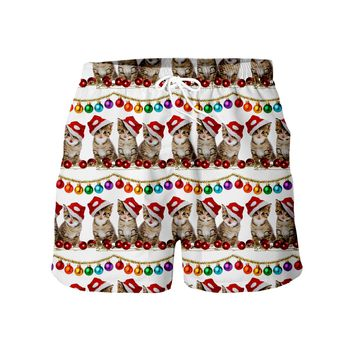 Chrsitmas cats Shorts