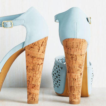 Ocean City Swanky Heel in Sky