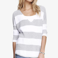STRIPED LONDON SWEATER from EXPRESS