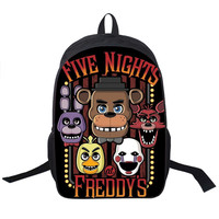Five Nights At Freddy`s Backpack For Teenagers Girls Boys Children School Bags Five Nights At Freddys School Backpacks Chica Bag