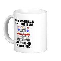 Wheels on the Bus - Ambulance (cup)