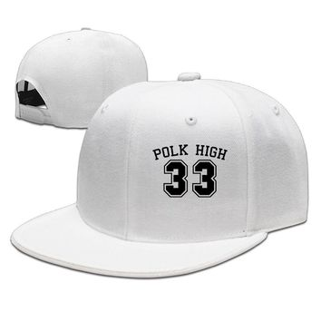 Polk High 33 Al Bundy Married With Children Printing Unisex Adult Womens Baseball Hats Mens Hip-hop Hat