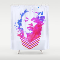 Norma Jean Shower Curtain by Fimbis