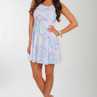 What A Life Dress: White/Multi   Hope's