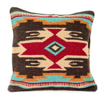 NATIVE AMERICAN GEOMETRIC ACCENT PILLOW 8001