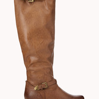 City-Chic Buckle Boots