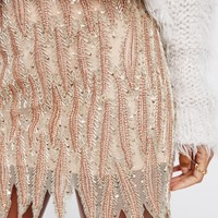 Free People Elven Embellished Mini