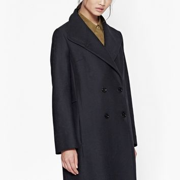 Winter Night Wool Coat