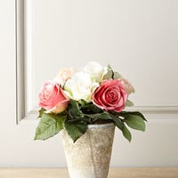 John-Richard Collection Faux Cottage Roses