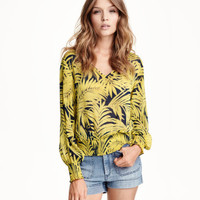 H&M Patterned Blouse $29.95