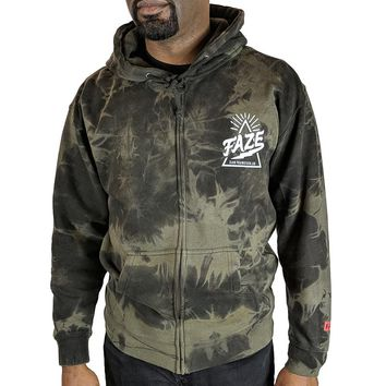 fddef6ff11b FAZE Apparel  34.00. FAZE Logo Zip-up Hoodie in washed black