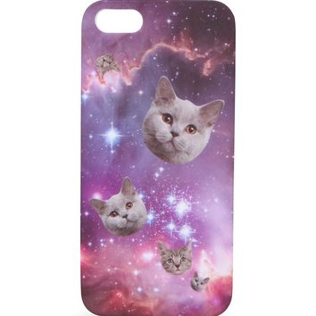 With Love From CA Cosmic Cat iPhone 5/5S Case - Womens Scarves - Multi - One