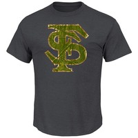 Section 101 by Majestic Florida State Seminoles Laid Out Tee - Men