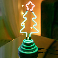 Christmas Tree Neon Sign Table Lamp | Urban Outfitters