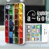 iPhone 4 case Watercolor Set, custom cell phone case