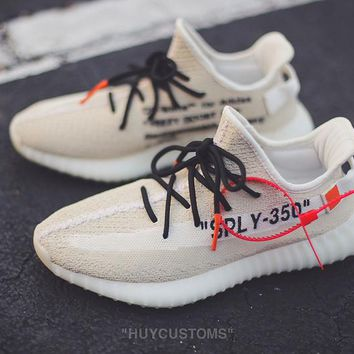 OFF WHITE x adidas Originals YEEZY BOOST 350 V2 Sneaker