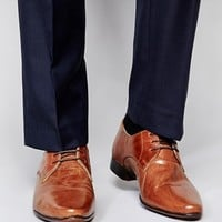 ASOS Derby Shoes in Leather at asos.com