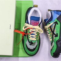 OFF-WHITE c/o ODSY-1000 Sneakers Blue/Green