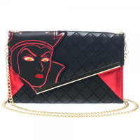 Disney Evil Witch Envelope Wallet with Chain