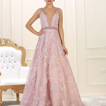 Long Evening Gown Prom Formal Couture Dress
