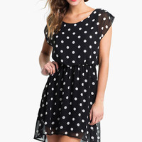 Lush 'Dakota' Chiffon Dress (Juniors) | Nordstrom
