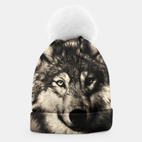 Gray Wolf Beanie, Live Heroes