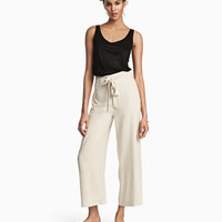 H&M Pinstriped Pants $39.99
