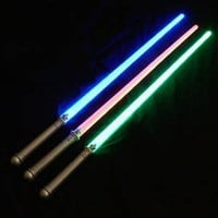 "Star Wars Light Up Laser Lightsaber Sabre Sword 29"" (3 PACK) - Comes with 3 lightsabre swords Force Awakens Kylo Ren"