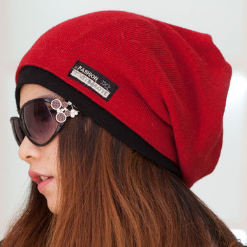 Beanies Scarf Winter Hat Warm Ski Caps Skullies Winter Hats For Women knitted Lady Brand Outdoor Cycling Beanie Winter Cap 2015