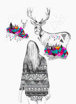 EMBRACE by Ola Liola and Kris Tate iPhone Case by Kris Tate | Society6