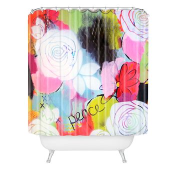 Natalie Baca Peace Of Mind Shower Curtain