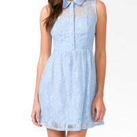 Sleeveless Lace Dress | FOREVER21 - 2031557042