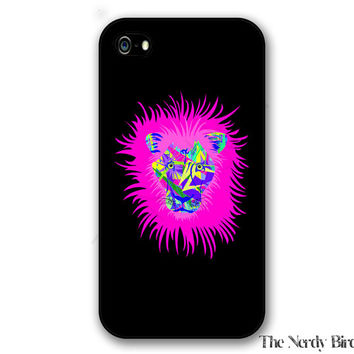 Colorful Abstract Lion iPhone 4, 5, 5C, 6 and 6 plus and Samsung Galaxy s3, s4, and s5 Phone Case