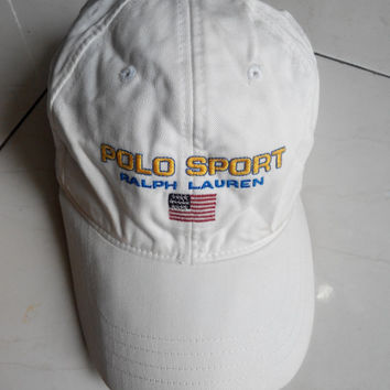 14c74c1309651 Vintage POLO Sport hat By Ralph Lauren Hat Caps