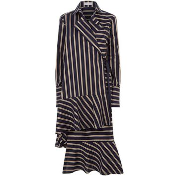 palmer//harding Wrap-Around Striped Shirt Dress | Harrods.com