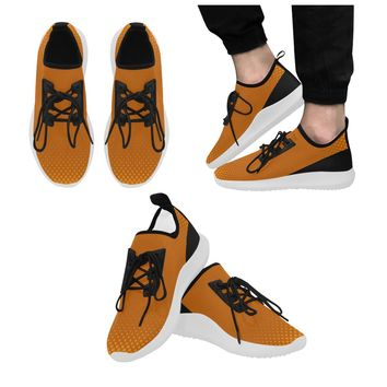 Men's Burnt Orange Dolphin Ultra Light Running Shoes