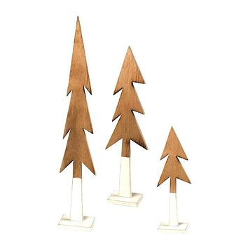 Dipped Tree Figurine