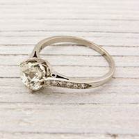 1.55 Carat Tiffany & Co. Antique Engagement Ring | Shop | Erstwhile Jewelry Co.