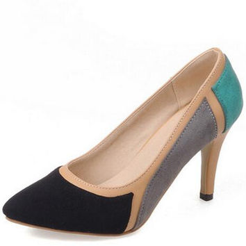 Pointed Toe Fashion Thin High Heel Pump